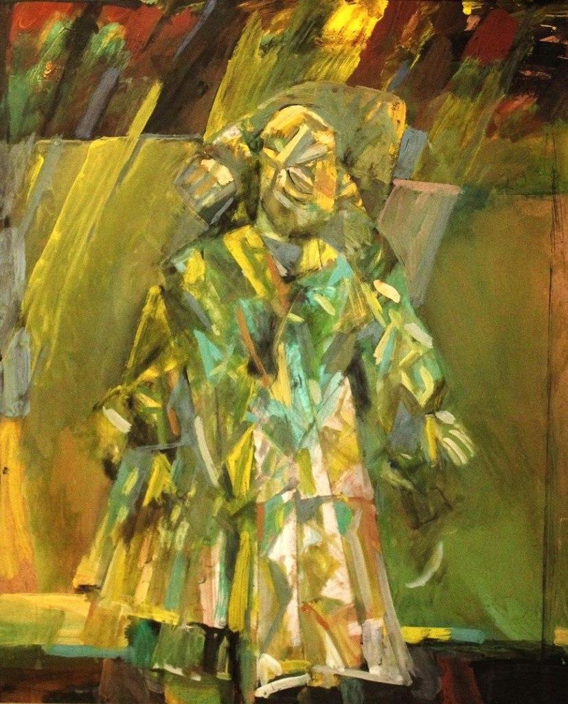 В. Егоров. «Весенняя фантазия», 2010, выставка «Разговор с Хлебниковым»